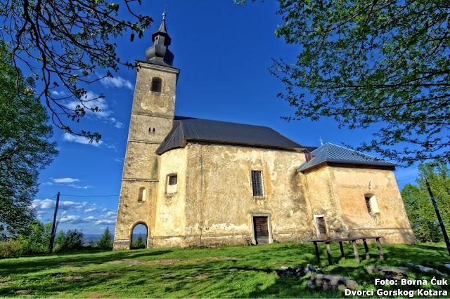Crkve Uznesene Blažene Djevice Marije Bosiljevo (c) Borna Ćuk