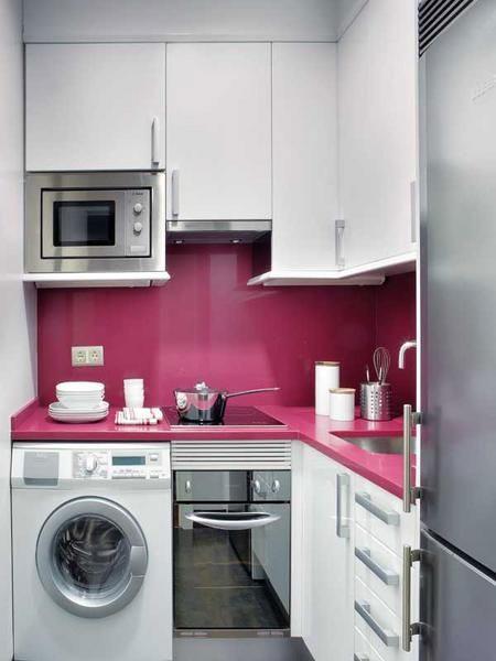 kitchen set warna putih