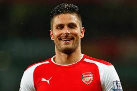 Arsenal striker, Olivier Giroud,