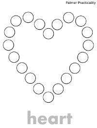Palmer Practicality: Do a Dot Printables- More Shapes!