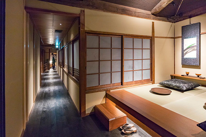 A Starbucks Inside a 100-Year-Old Converted Teahouse in Kyoto