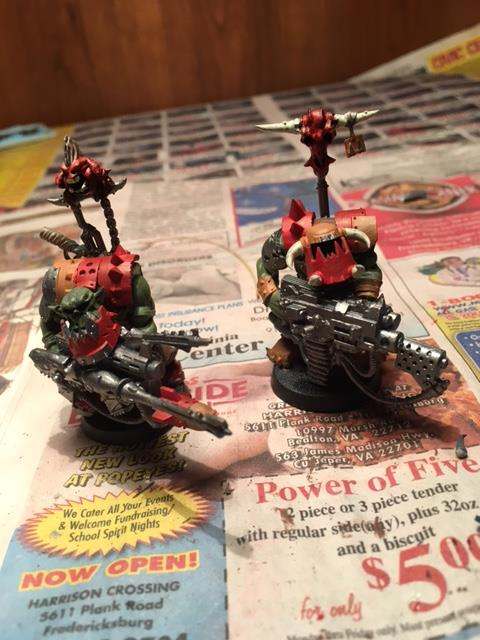 What's On Your Table: Converted Ork Flash Gitz