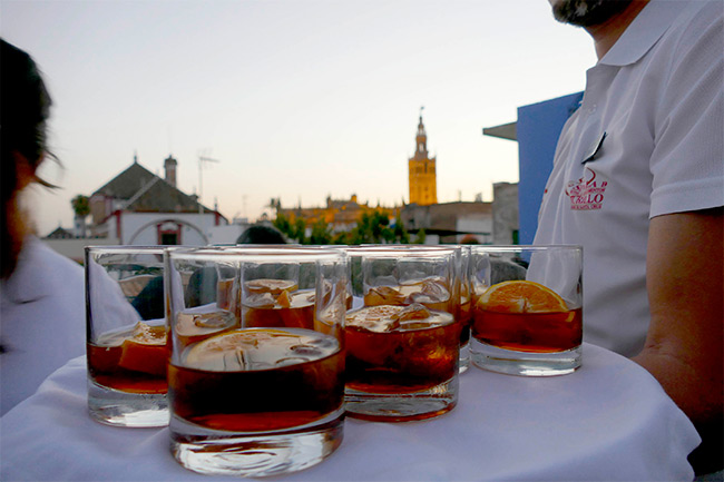 Sherry on Top Sevilla 2016 Hotel Murillo