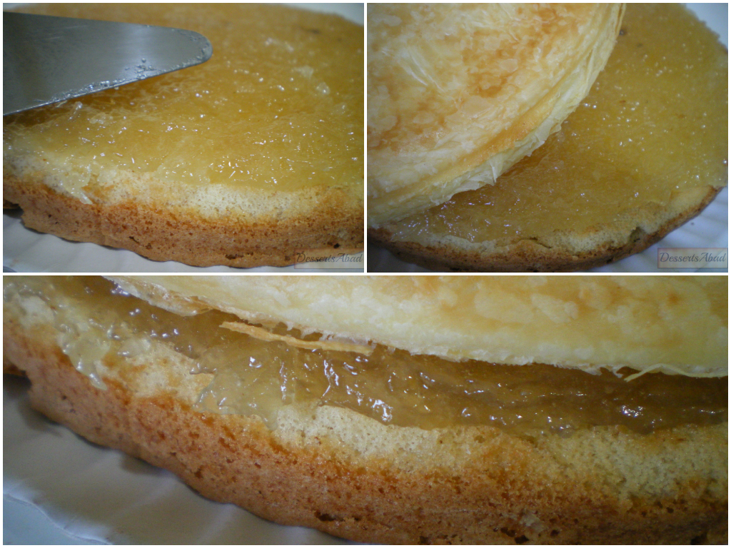 Torta inglesa (Elaboración)