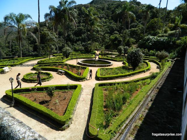 Jardins do Santuário do Caraça, Minas Gerais