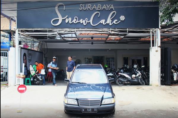 alamat snow cake surabaya