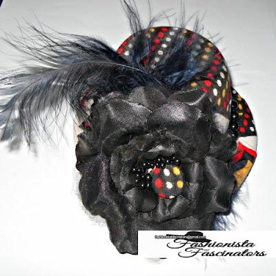 Buy African print fascinators hats Nairobi Kenya