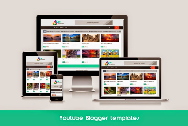 Youtube Responsive Video Blogger Template