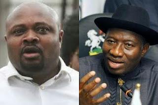 Waripamo-Owei Dudafa and Goodluck Jonathan