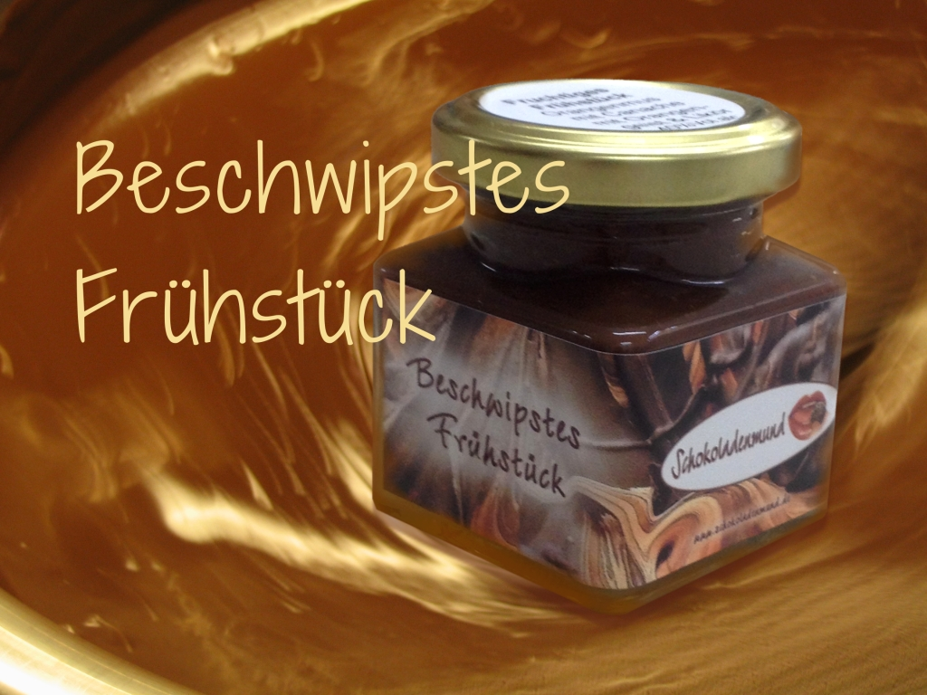 Schokoladenmund - Beschwipster Frühstücks-Aufstrich