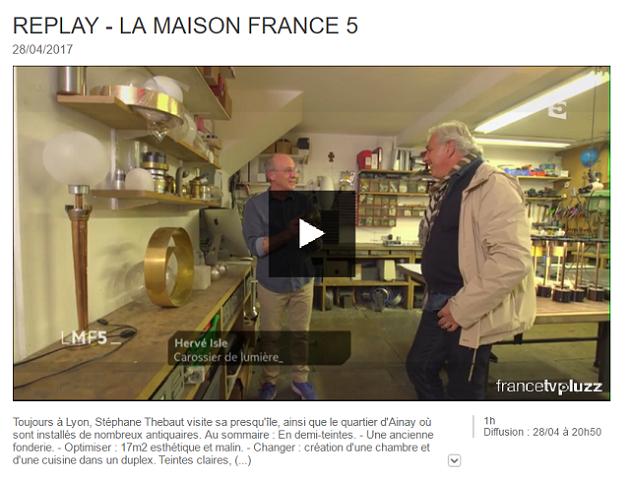 Sport boules diffusion la boule lyonnaise sur france 5 - Emission maison france 5 ...