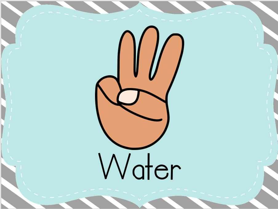 What Is A Signal To Drink Water