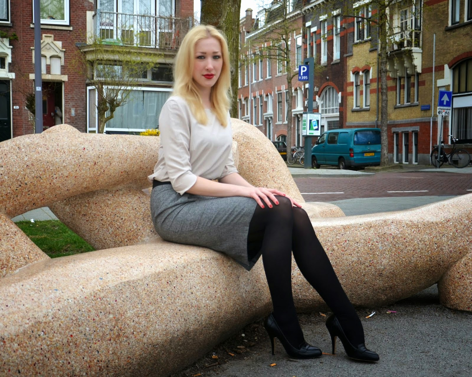 Fabulous Dressed Blogger Woman Wilemine From Rotterdam