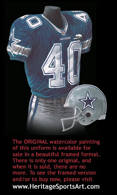 Dallas Cowboys 1999 uniform
