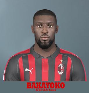 PES 2019 Faces Tiémoué Bakayoko by Jarray & The White Demon