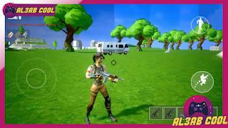 تحميل لعبة Fortnite FanGame للاندرويد بحجم صغير من ميديا فاير 300mb