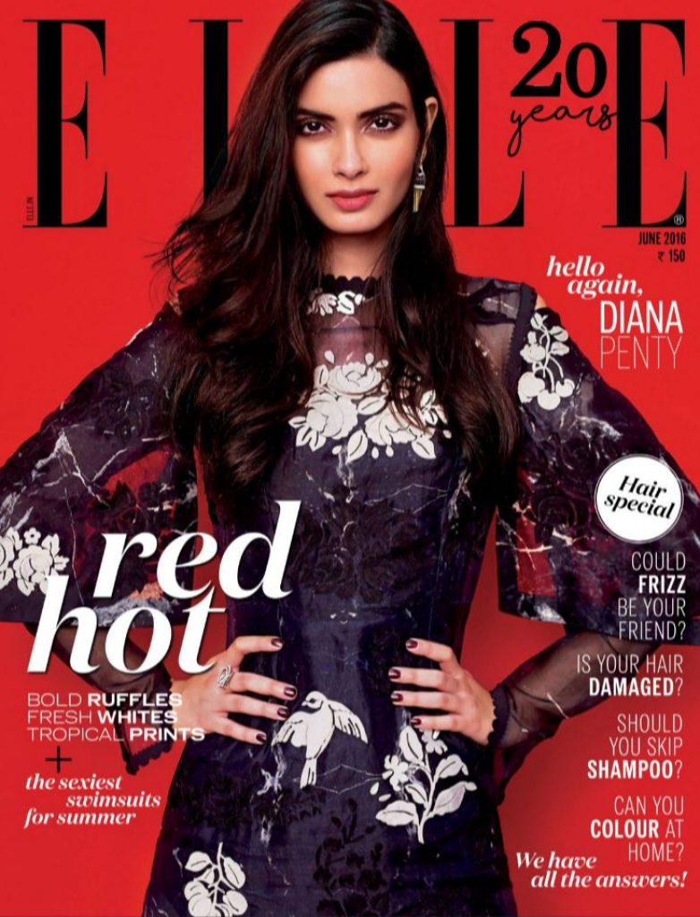 Diana Penty Looks Stunning As The Cover Girl Of Elle -9058