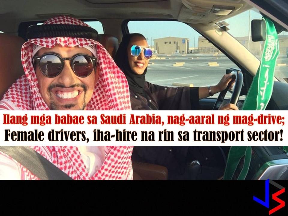 Looks like women in Saudi Arabia is soo excited to drive that as early as now some of them are already practicing the skills.  Last September, King Salman issue a Royal Decree lifting a ban on female drivers in Saudi and women will be allowed to drive starting June 2018.