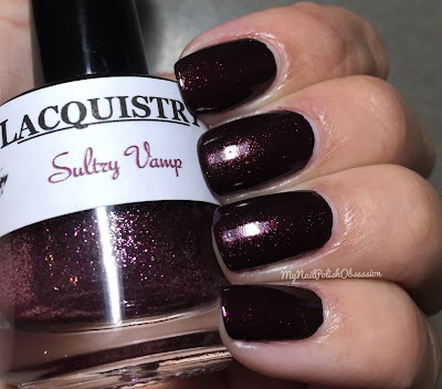 Lacquistry Nail Polish Vamps Group Customs; Sultry Vamp