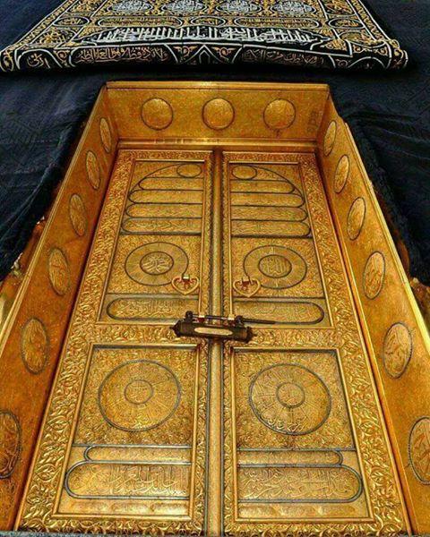 Keistimewaan Pintu Ka'bah, Terbuat dari Emas Murni 99 Karat dengan Berat 280 Kg
