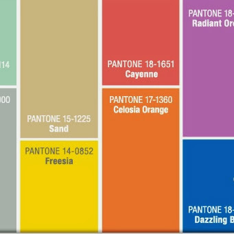 Fashion Friday-Pantone 2014