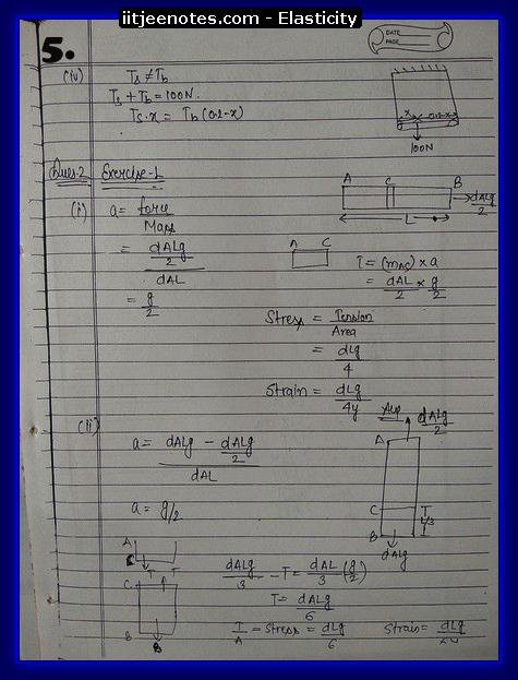 Elasticity 5