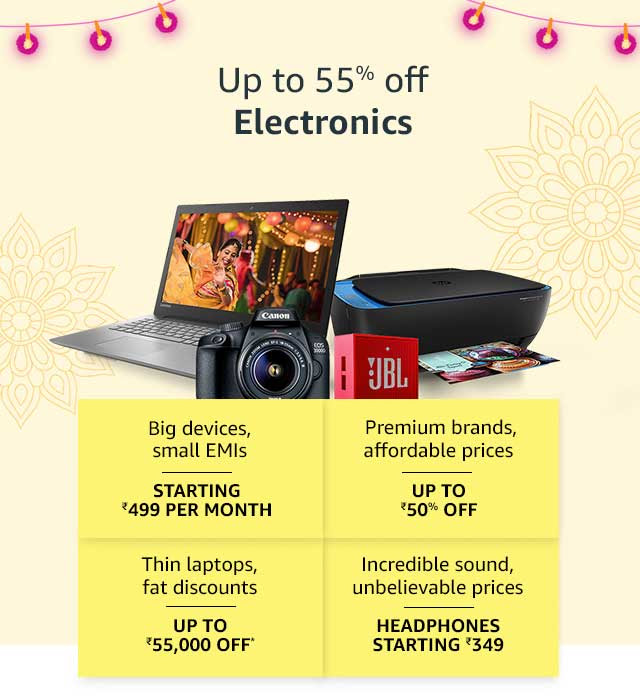amazon great indian festival laptop discount