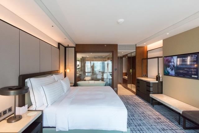 Conrad Bangkok renovated room