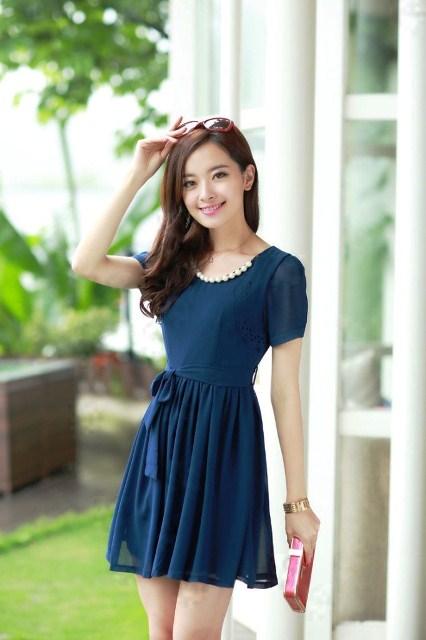 30 Model Baju Dress Pendek Wanita Model Baju Terbaru Dan Update