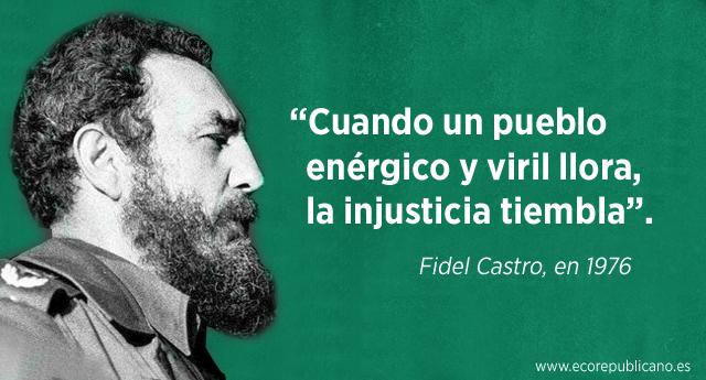 """Alberto Garzón: """"Un trozo de nuestra historia se apaga con Fidel"""""""