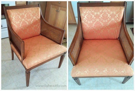 Vintage chair www.diybeautify.com