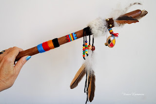 "The Talking Stick helps us to talk about ""hot topics"" without losing temper. It can help to solve the tricky effects of Internet when they spread into reality."