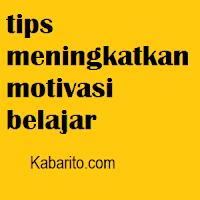 Motivasi Belajar Anda Menurun? Berikut Tips Membangkitkannya