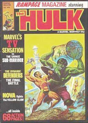 Rampage Magazine #6, Hulk vs Sub-Mariner