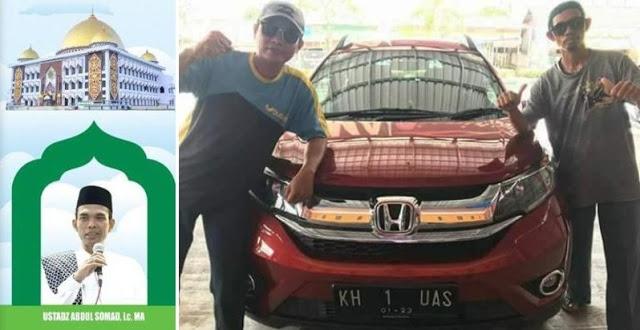 """Subhanallah.. Mobil Khusus """"KH 1 UAS"""" Telah Disiapkan Untuk Safari Dakwah Ustad Abdul Somad di KALTENG"""