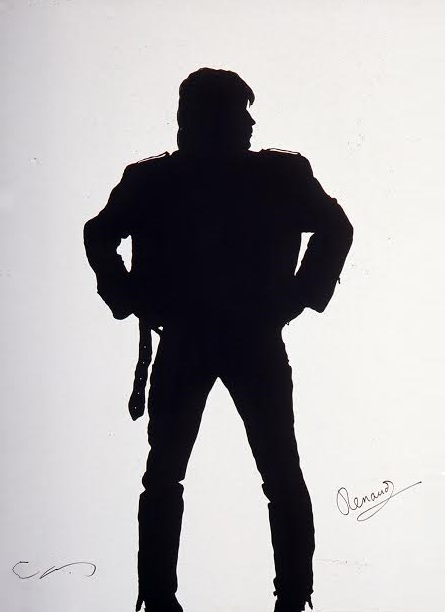 Renaud's shadow by Klaus Guingand - 1990
