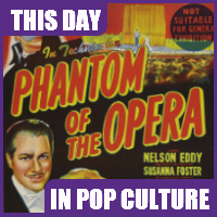 """Phantom of the Opera"" opened in theaters on August 12, 1943."