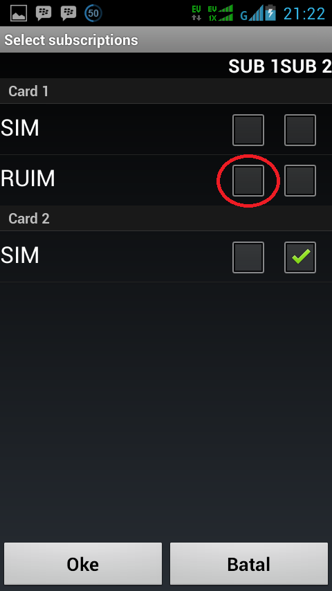 Cara Mengubah Koneksi Smartfren Andromax Dari CDMA ke GSM