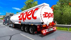 Fuel Trailer Turkey Opet Cilt trailer