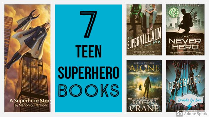 YA superhero books
