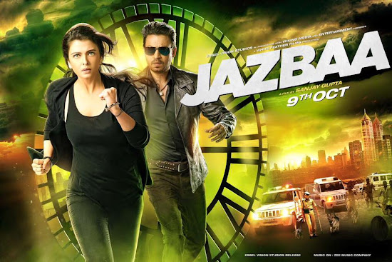 Jazbaa (2015) Movie Poster