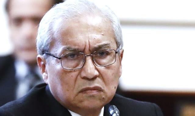 Pedro Chávarry Vallejos, comentó sobre la remoción de los fiscales José Domingo Pérez y Rafael Vela del equipo especial del caso Lava Jato
