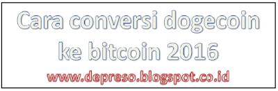 conversi dogecoin ke bitcoin