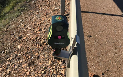 Nuevo Radar Laser Sujeto a Guardarrail