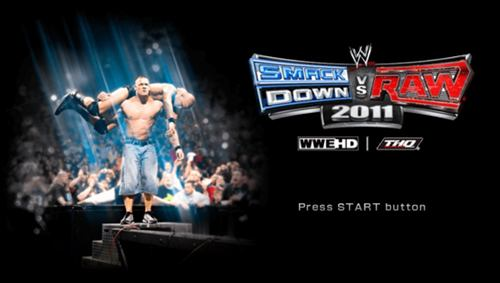WWE Smackdown Vs Raw 2011 PSP ISO - Download Game PS1 PSP