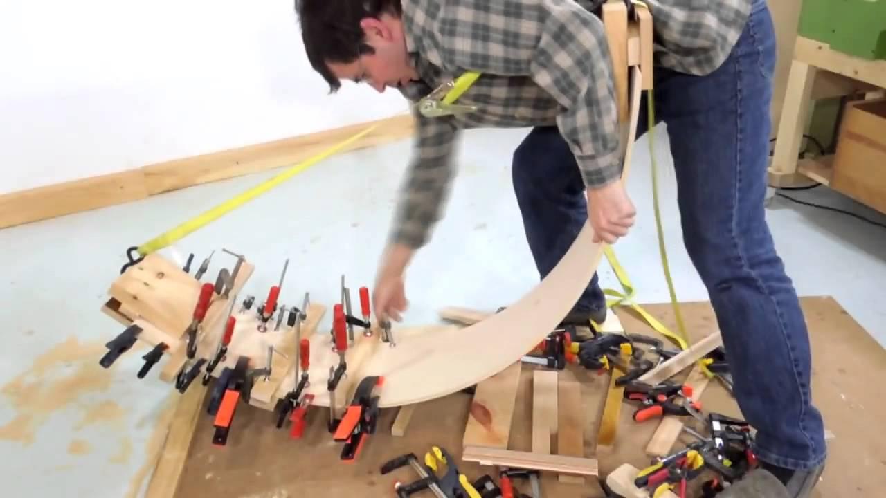 Como hacer una tabla curva con laminas de madera | Hágalo Usted ...