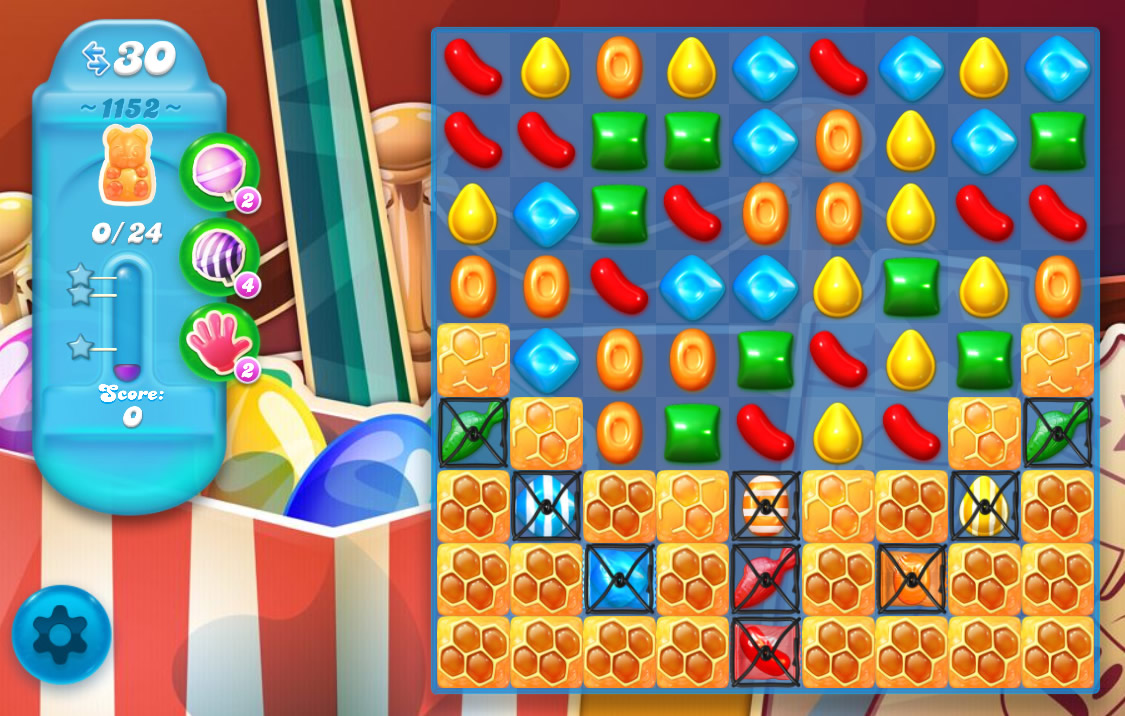 Candy Crush Soda Saga level 1152