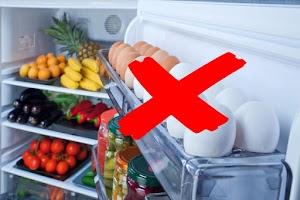 هذا هو سبب عدم وضع البيض فى باب الثلاجة ... إعرف الان !