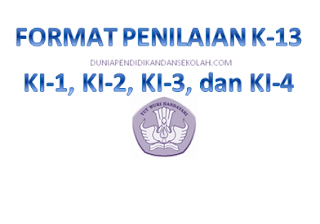 Format Excel Penilaian KI-1, KI-2, KI-3, dan KI-4 Tematik Kurikulum 2013/ K-13 Revisi 2017 SD/ MI
