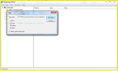 cara disable atau mematikan safe mode win 7